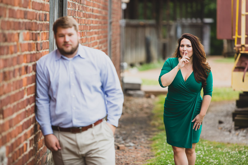 Murfreesboro Engagement Picture