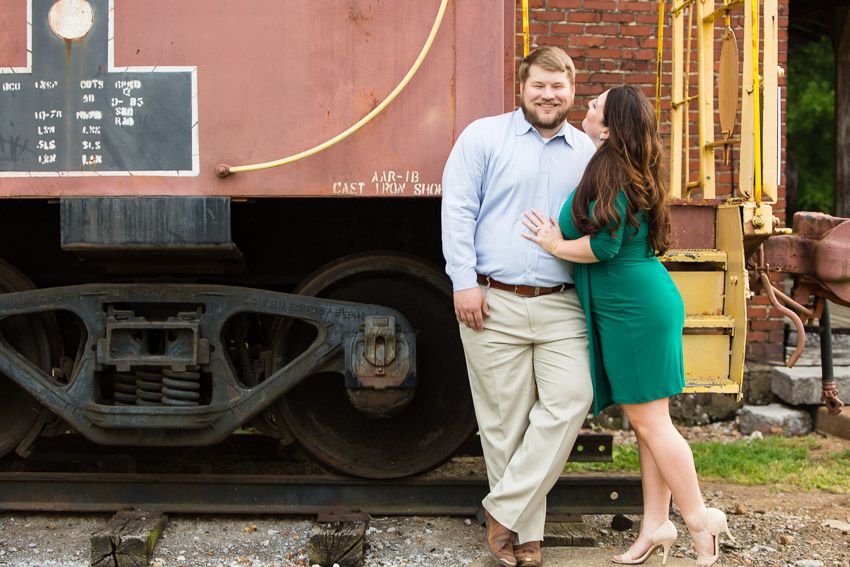 Murfreesboro afternoon engagement pics