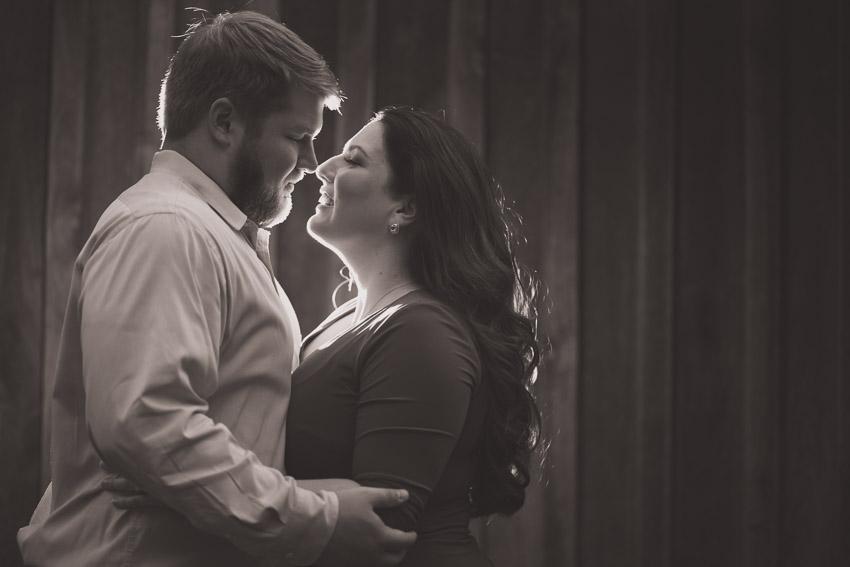 Romantic Backlight photo of couple