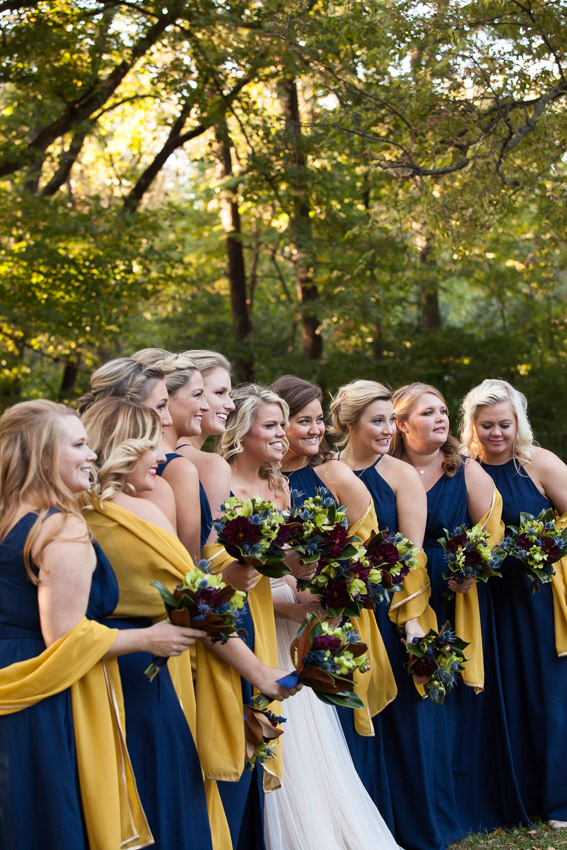 Bridesmaids color inspiration