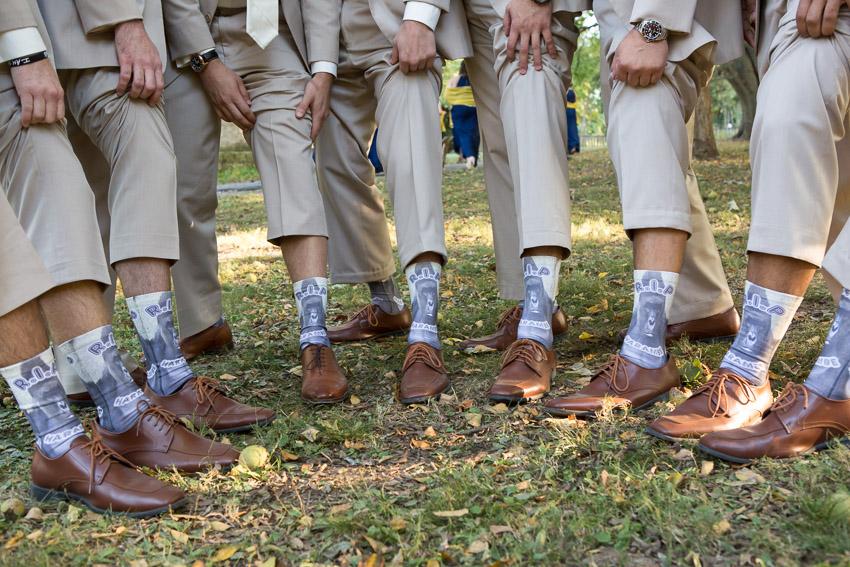 Nashville Zoo Wedding Hirambe Socks