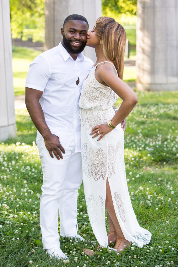 Bicentennial Capitol Mall Engagement Session
