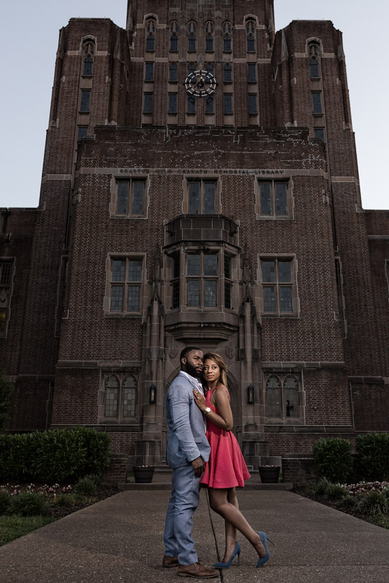 Fisk University Nashville Engagement Session
