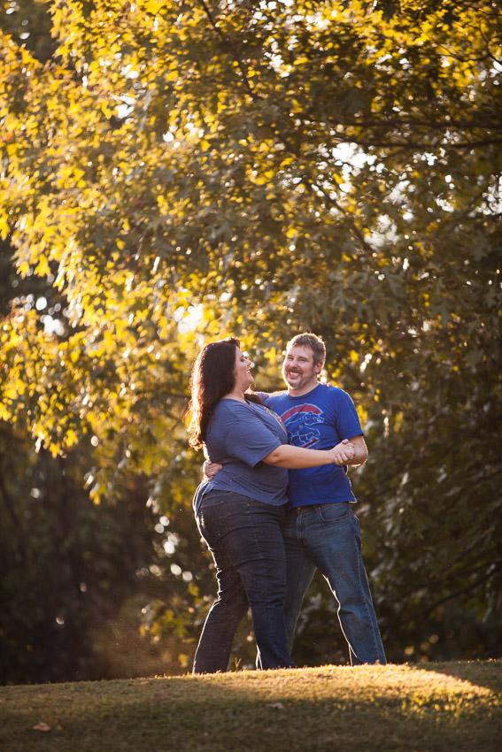 Autumn Engagement Natchez
