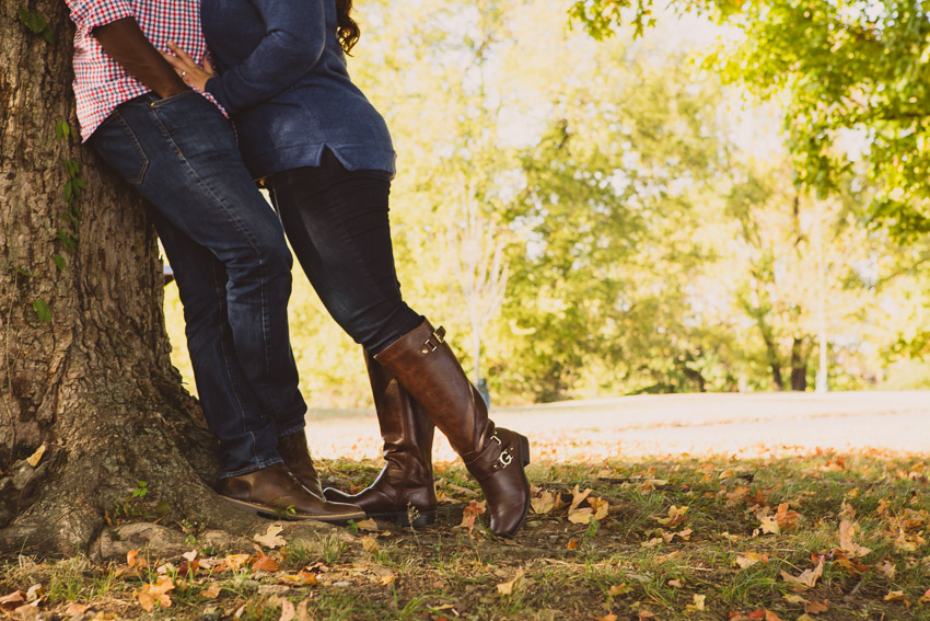 One of the best things about fall sessions is the color and the leaves, but also the boots!