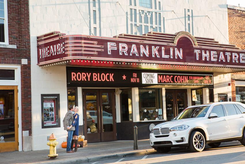 Historic Franklin Engagement Session