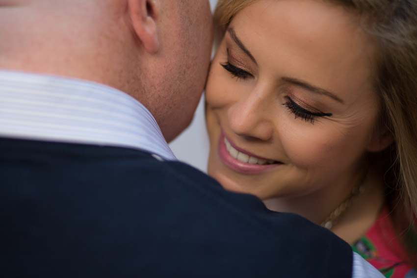 gorgeous closeup engagement image
