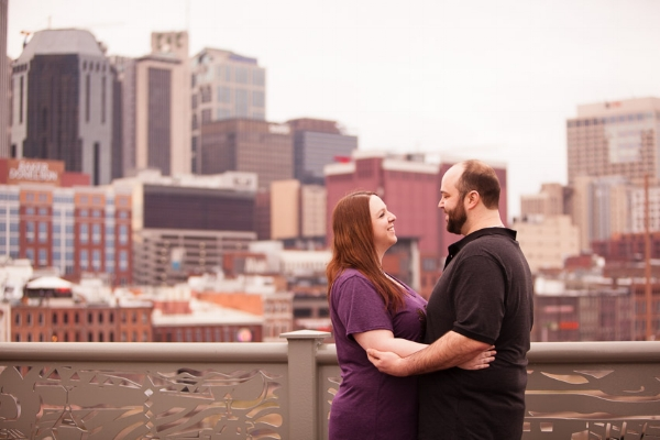 We love the beautiful city of Nashville as a backdrop for engagement sessions!