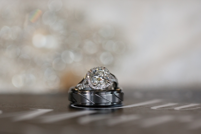 Ambers wedding ring is stunning and we love photographing the rings on the wedding day.