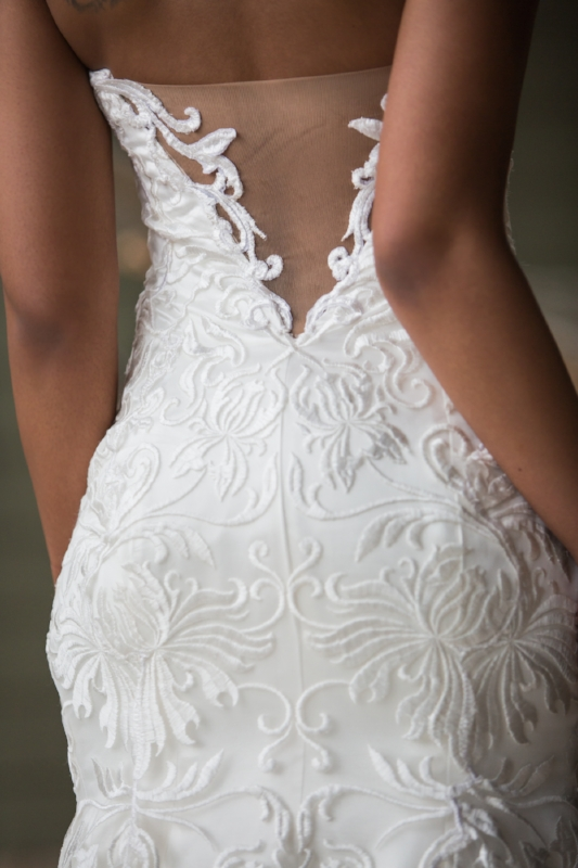 wedding dress detail image