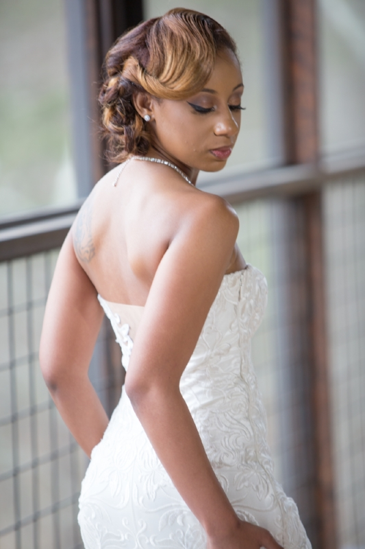 Elegant Bridal Portrait at The Lodge