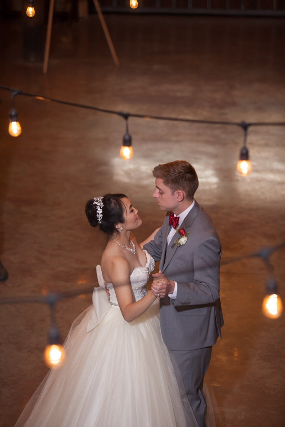 And a first dance under the lights is even more special.