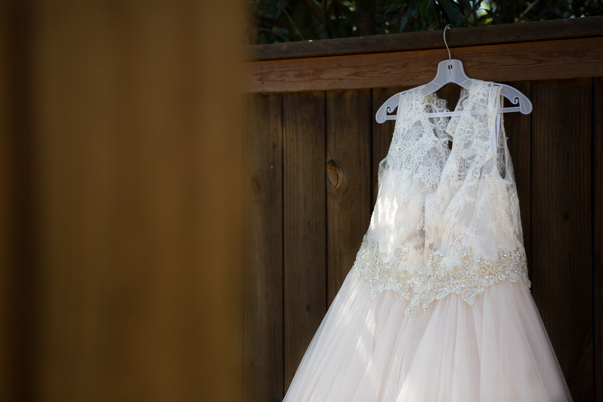 Stunning Wedding Dress at Loveless Cafe Wedding