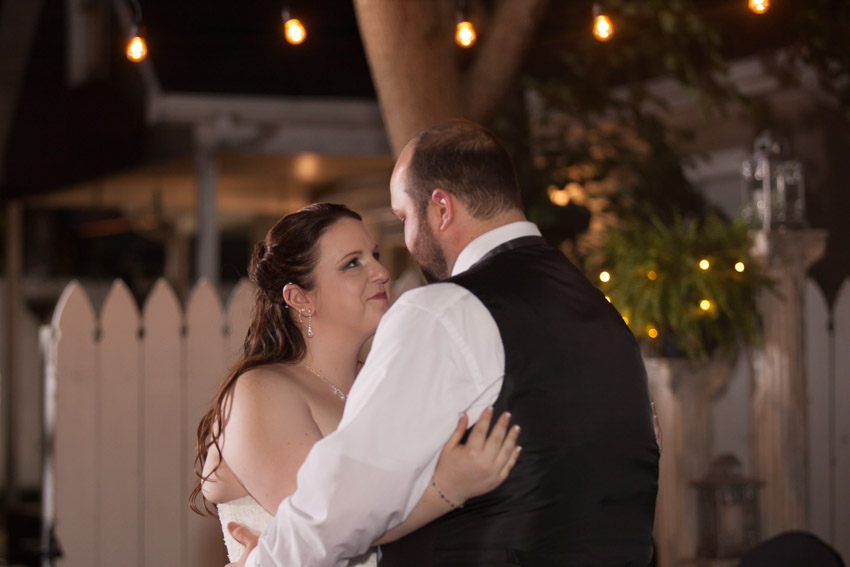 Sweet First Dance Bride and Groom Image