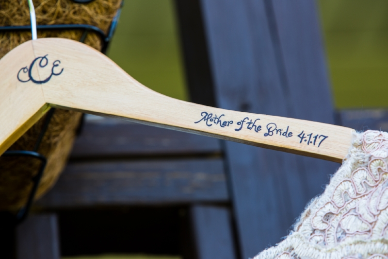 custom mother of the bride hanger
