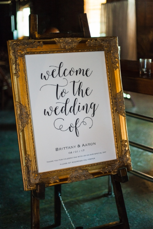 Custom Welcome to the Wedding Sign