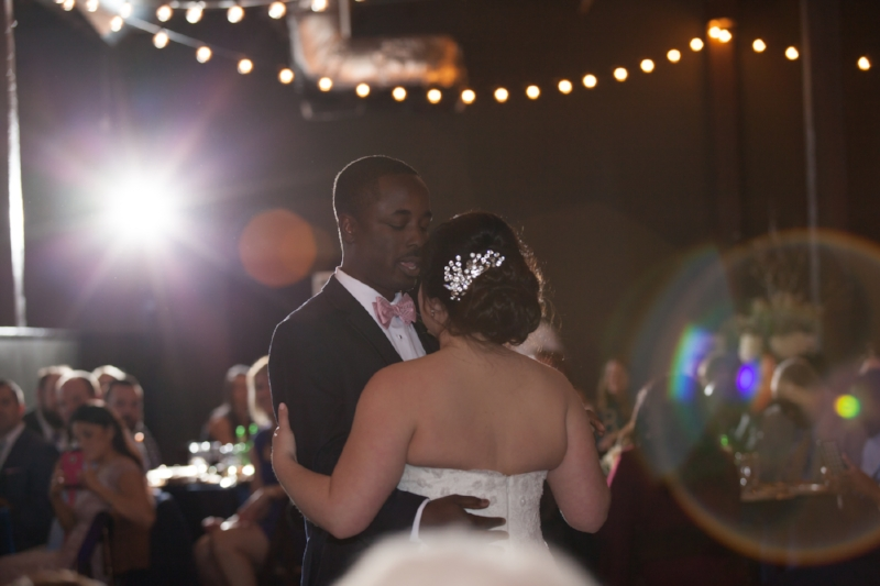 Groom dancing with Bride at The Oak Room Wedding Nashville