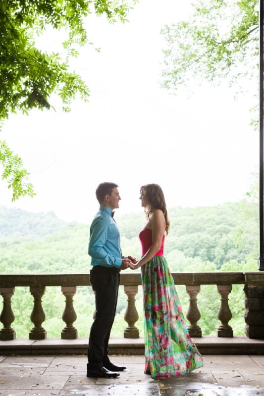 Cheekwood Gardens Engagement Session