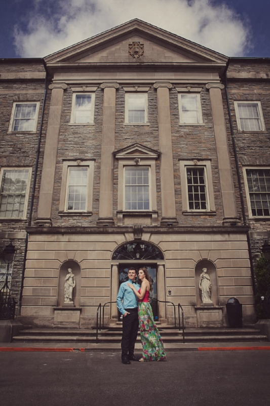 We love doing engagement sessions at Cheekwood Gardens in Nashville