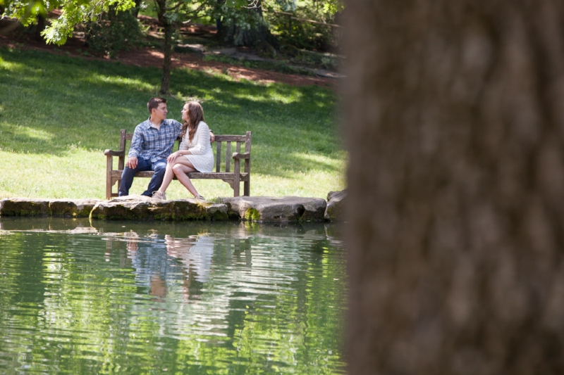 Engagement Session at Cheekwood