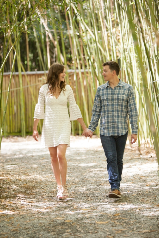 Bamboo cheekwood engagement