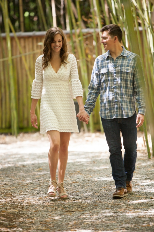 Nashville Engagement Session at Cheekwood