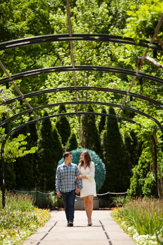 Cheekwood Engagement Session Photo