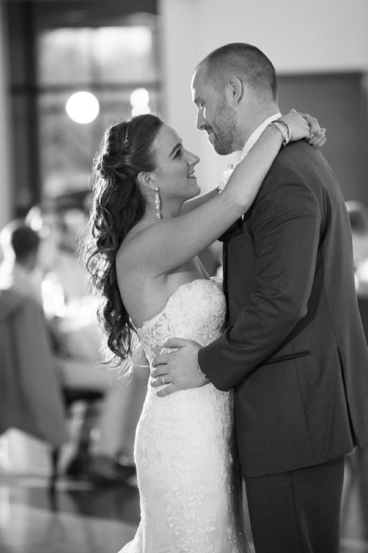 The first dance is always a special memory from the wedding day.