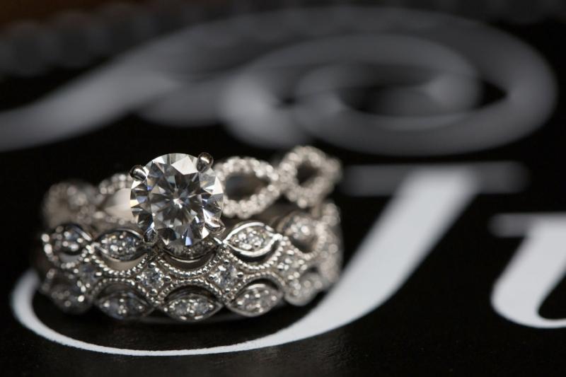 Gorgeous wedding ring set