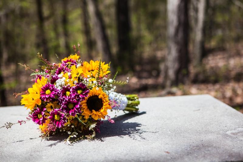 Sunflower Wedding Boquet