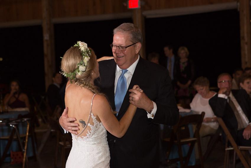 Fun bride father-in-law dance