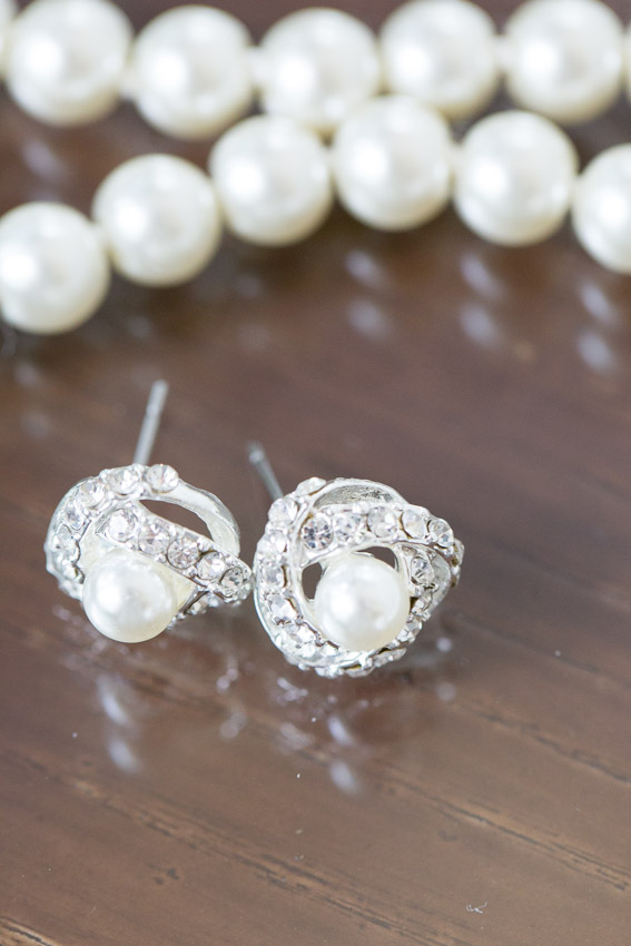 bridal wedding earrings