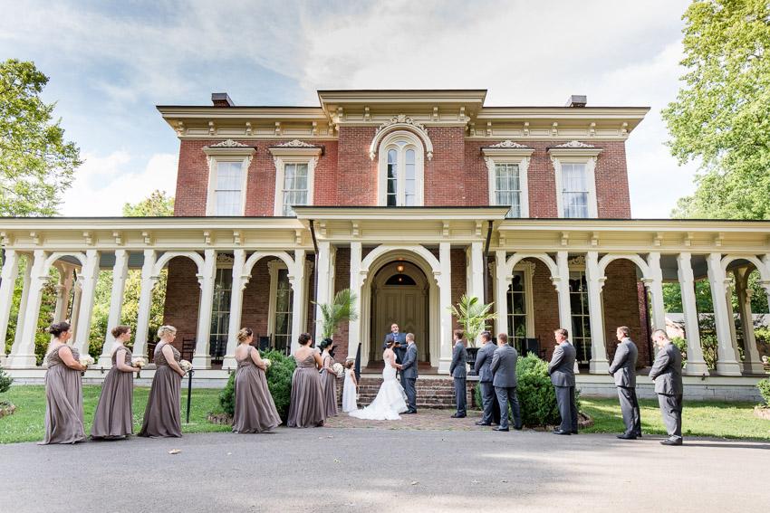 Oakland's Mansion Wedding Ceremony