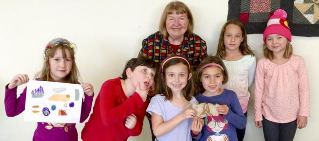 Cool Girls camp founder Mary Golden is pictured here with several camp attendees. (  Courtesy Photo / Courtesy Photo  )