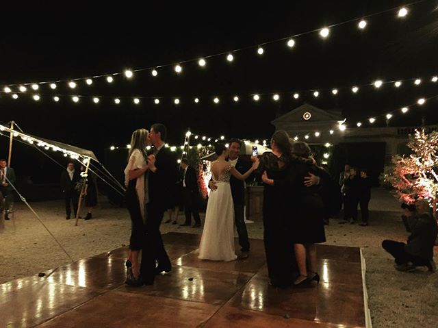 Love & Happiness ✨💥🍾 Congratulations Steven & Rebecca! - - #chateauwedding #frenchwedding #frenchweddingstyle #weddingdj #danceparty #loveandhappiness #provence #provencewedding