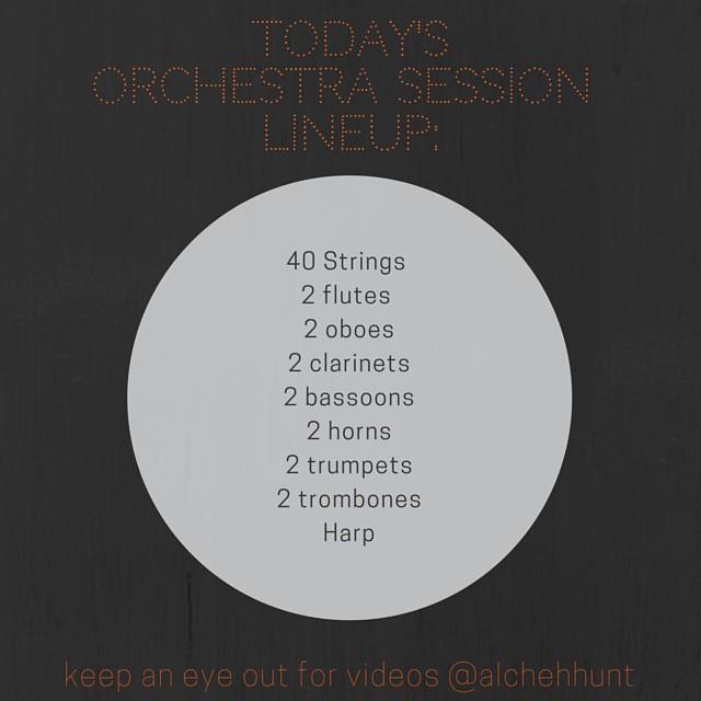 #liveorchestra #originalscore #alldayeveryday #music