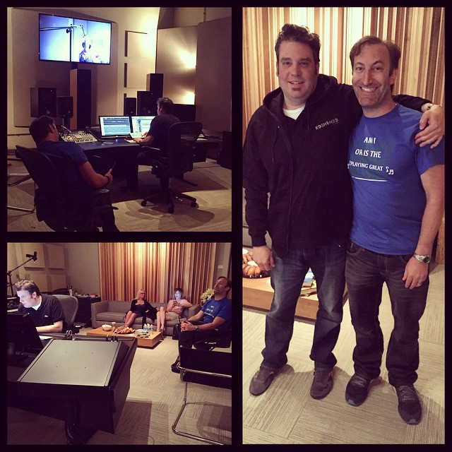 Today's mix session with #RoshamboFilms #CIG and #CDOT! #finalmix #SFX #boulderstudio #audiopost #VO