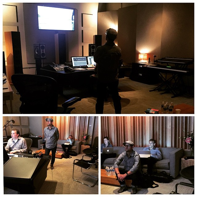 Last weeks session with @sterlingricegroup and #waypointfilms at our #boulderstudio! #VoiceOver #SFX #mix