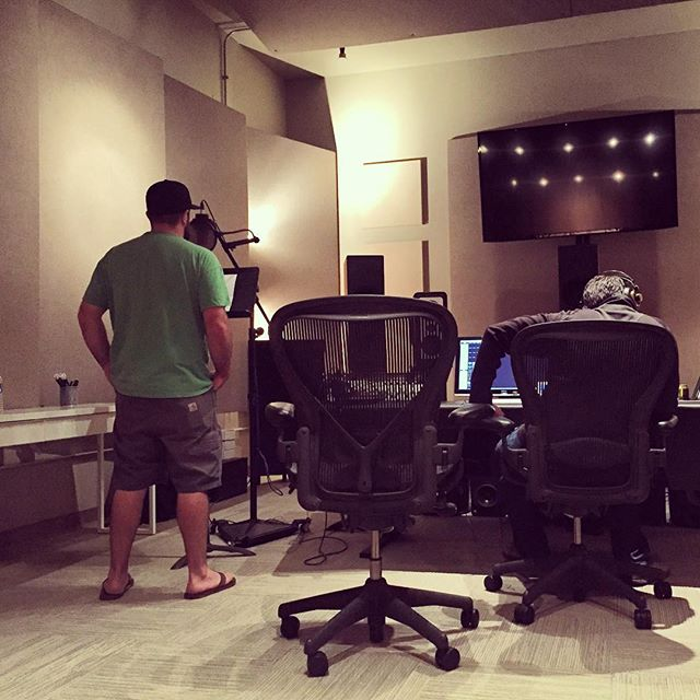 Monday's voiceover session for Warehouse Twenty One #voiceover #studio #boulderstudios #audiopost