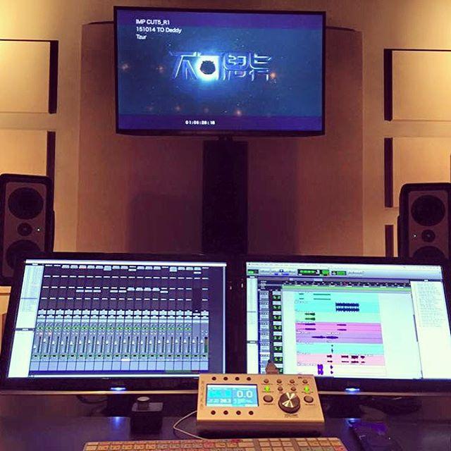 Early AM 5.1 score mixing #fiveonemixing #filmscore #featurefilm #surroundsound #surroundmixing