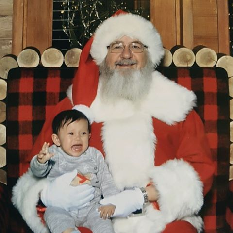 #santa #love #christmas #baby #babygirl #holidays #firsttime