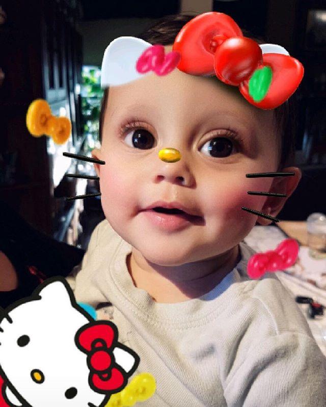 Hello Hazel. #baby #hellokity