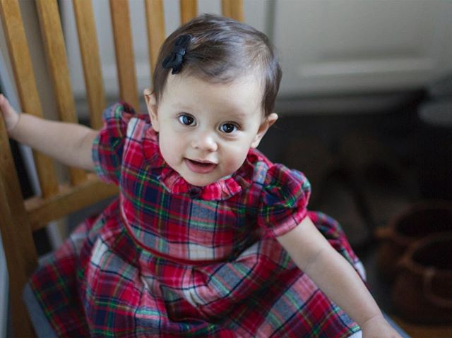 Christmas dress. #baby #christmas #dress #cute