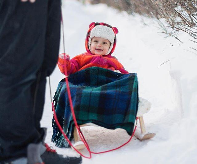 Sleigh ride! #winter #sleigh