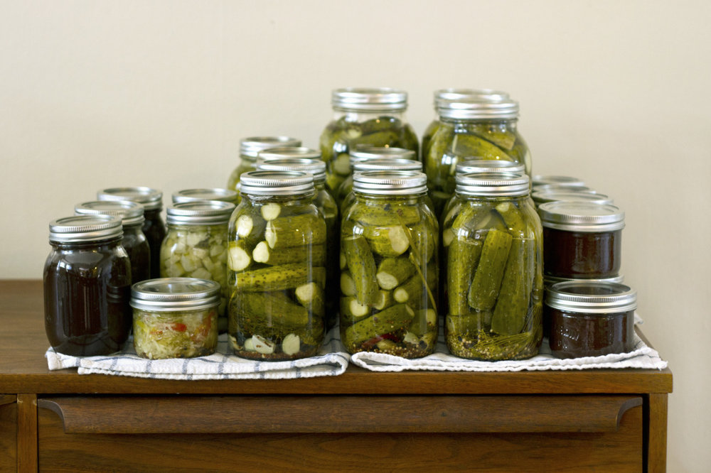 Our weekend camping plans were replaced with Saturday - Canning: round one (pickles and apple butter) and Sunday - An afternoon exploring Lockport and beyond.