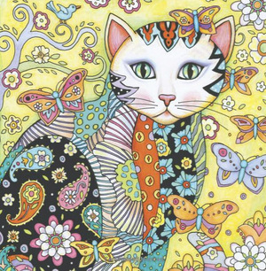 Creative Cats Cover Trimmed