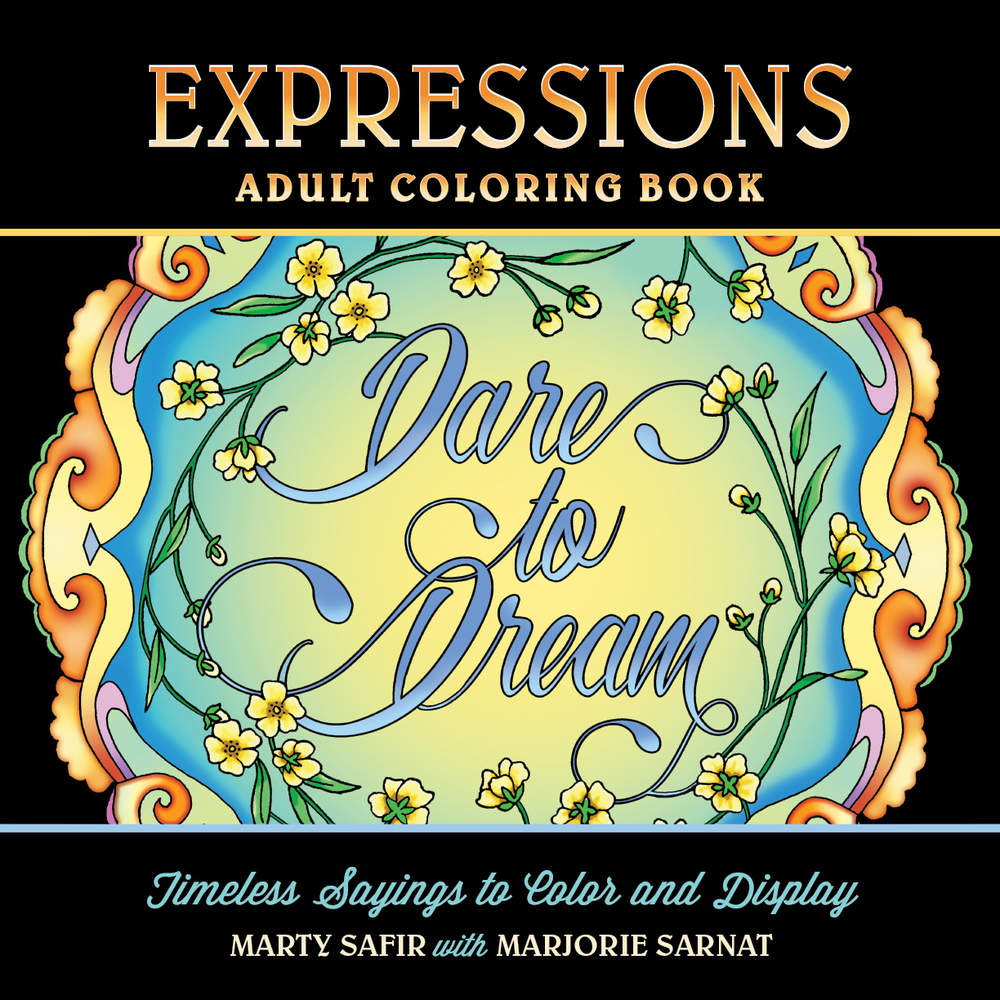Marjorie\'s Coloring Journal — Marjorie Sarnat Design & Illustration