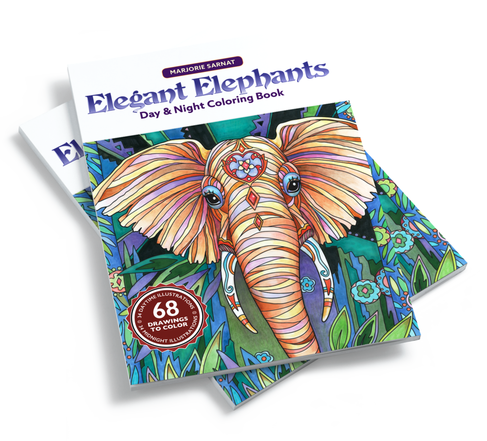 A portion of the net profits from Elegant Elephants is donated to 96 Elephants, a campaign to stop illegal trafficking of ivory and to protect elephant's lives!