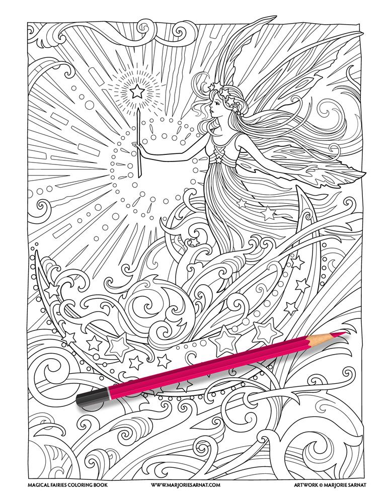 Magical Fairies — Marjorie Sarnat Design & Illustration