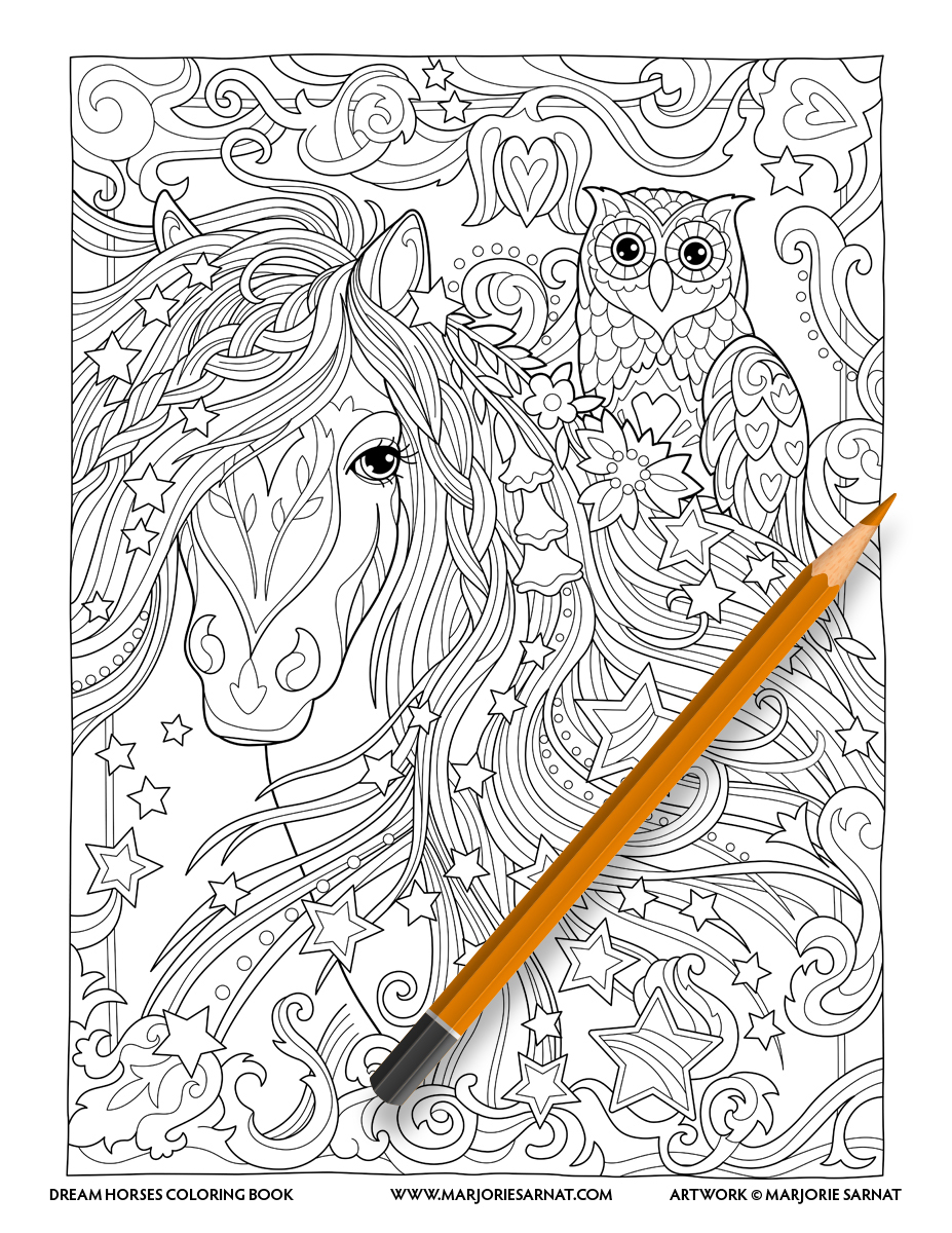Horse and Owl